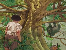 亚马逊丛林探险故事绘本