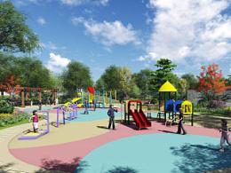 园林景观设计TOP4塘桥项目三(张家港塘桥高中街角绿地景观设计)