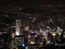 韩国-首尔夜景