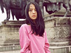 原创服装设计女装品牌【韵文】刺绣七分袖t恤
