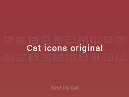 Cat icons original