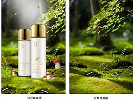 化妆品海报合成练习 背景的重要性 (一)
