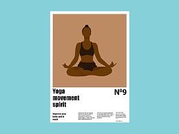 人物系列-瑜伽