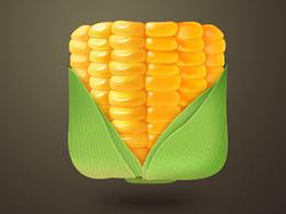 临摹玉米icon一枚