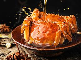 美食摄影 - 醉蟹