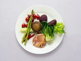 轻食健康餐拍摄