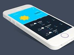 UI天气图标(附动画和源文件)