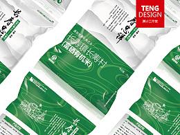 TENG DESIGN原创设计 / 长寿富硒米包装设计