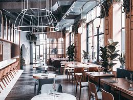 莫斯科千禧怀旧餐厅