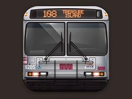 图标琐记 - 08. MUNI BUS 108