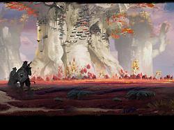 作品集1——红草原游戏场景设计