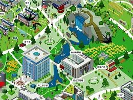 四季财大地图设计