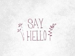 短篇漫画《say hello》