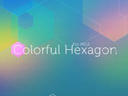 Colorful Hexagon(ICON for MIUI )