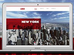 网站视觉界面