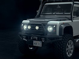 Land Rover Defender 90 路虎卫士
