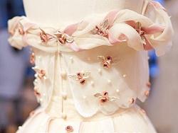 婚纱也可以很少女,兰奕的小玫瑰