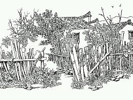 皖南印象之二~西递写生作品集~这是我近几年在黟县西递的钢笔速写写生作品~