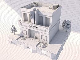 C4D建模