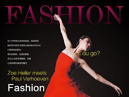 0096 时尚杂志封面设计