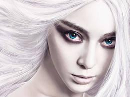 《白发魔女传》练习作品