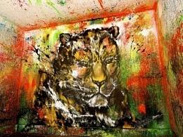 2014大型互动创作-黄金猎豹