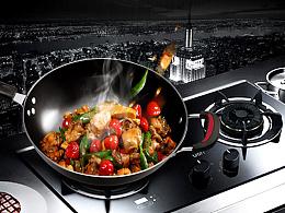 铁锅详情描述页 家居用品 厨房用具