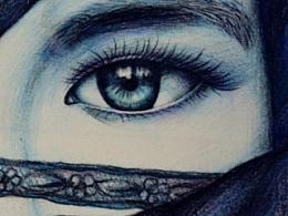 彩铅画---人物