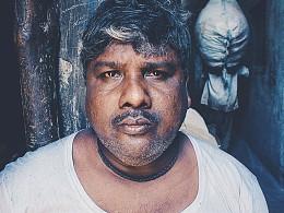 一个人勇闯印度贫民窟