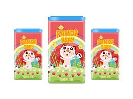 【爱哆哆】熊猫宝贝 诞生礼包装设计