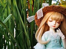 有了娃娃,才觉得自己像个公主