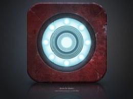 【Iron man】Icon 临摹