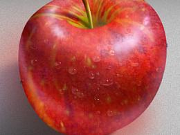 鼠绘苹果两枚