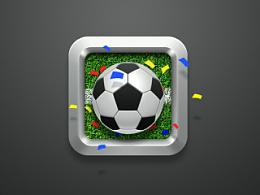 足球图标一只