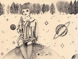 【铜版画】致遥远星球的你系列/2017