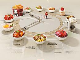 【百度外卖品牌海报】设计过程及思考