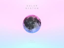 solar system-太阳系星球