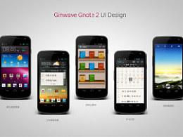 Ginwave Gnote 2 UI Design