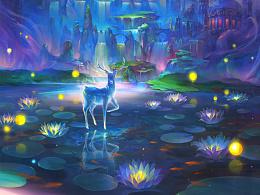 寒放绘画课堂——步骤图 《梦 三月》让我在你的季节里徜徉
