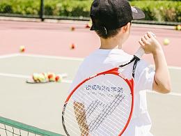 儿童网球比赛