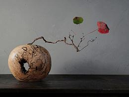 木艺花器与插花
