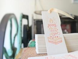 Letterpress手工活版生日賀卡設計製作