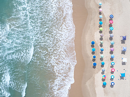 ammsun沙滩伞摄影作品