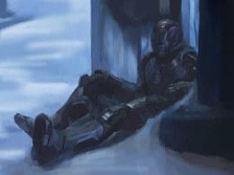 一个钢铁侠3的小场景