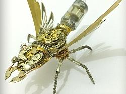 蒸汽朋克机械昆虫