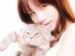 [少女与猫猫]