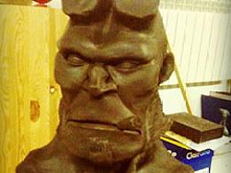hellboy雕塑3天工时