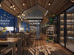 MINORITY I-CAFE 少数派电竞馆空间设计方案