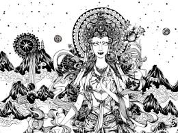 《神谕》系列之四——藏族《天女》