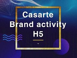 卡萨帝H5会员活动页面